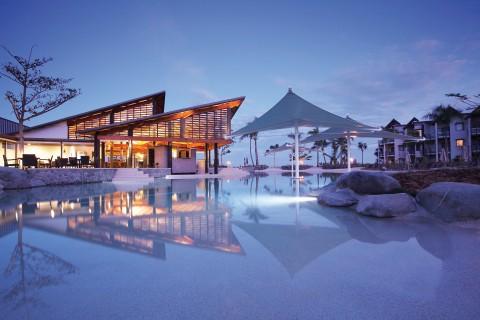 风景 海边度假酒店