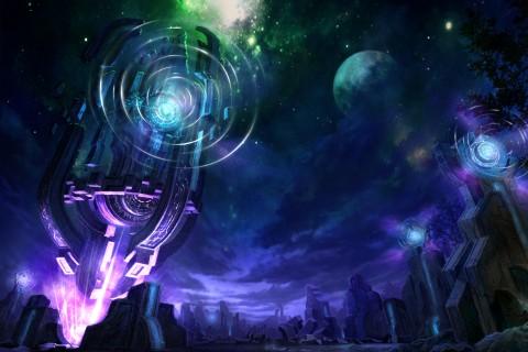科幻里的星空 科幻里的星空壁纸 科幻里的星空壁纸下载