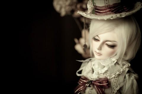 漂亮的BJD娃娃