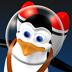 涂鸦太空企鹅