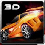 3D高速汽车停车