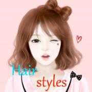 女孩的时尚发型