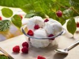 覆盆子冰淇淋
