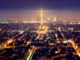 铁塔唯美夜景