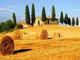 意大利托斯卡纳迷人秋景