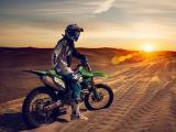 沙漠越野摩托车