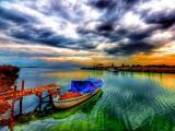 优美的湖泊风景