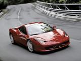 红色法拉利458 Italia
