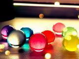 美丽的玻璃球