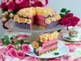 美味玫瑰蛋糕