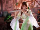 古典长笛美女