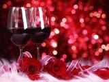 玫瑰与红酒