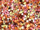 彩色夹心软糖