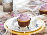 紫色奶油蛋糕