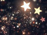 星星闪烁的光芒