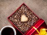 爱心咖啡豆