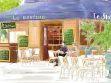 咖啡馆的邂逅