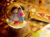 水晶球里的唯美爱情