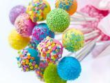 彩色棒棒糖