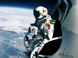 太空里的宇航员