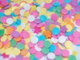 美味的彩色糖果