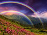 绚丽多彩的彩虹