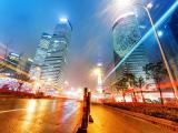 繁华的城市上海