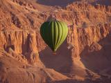 绿色热气球