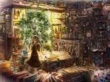 书房里的女孩