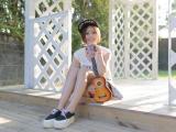 酷爱音乐的女孩