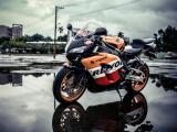 炫酷本田摩托车