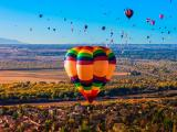 承载梦想的热气球