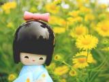 和服木偶娃娃