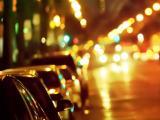 城市中亮眼的霓虹