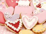 漂亮爱心饼干