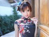 旗袍美女王馨瑶