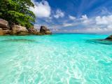 美丽的蓝天大海