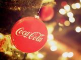 挂饰上的可口可乐标志