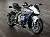 炫酷的宝马摩托车
