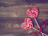 甜滋滋的爱心棒棒糖