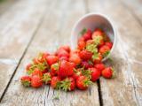 打翻的草莓