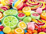 色彩斑斓的糖果