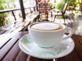 香浓的拿铁咖啡
