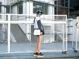 街拍时尚女孩