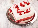 爱心婚礼蛋糕