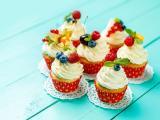 水果纸杯蛋糕