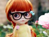 可爱大眼娃娃