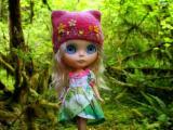 可爱的大眼娃娃