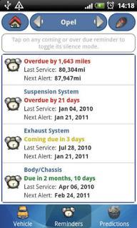 汽车综合记录软件截图4