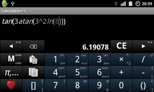 高级计算器安卓版截图